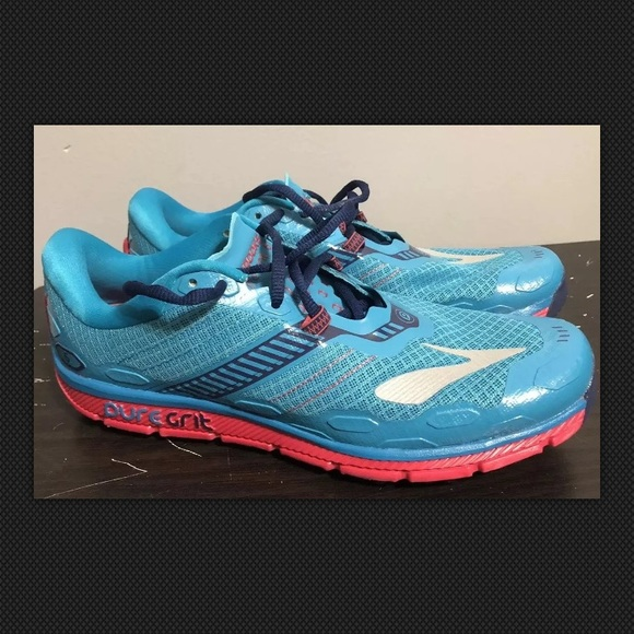 buy popular 8bc2e ce73d Brooks PureGrit 5, Women's Size10 PeacockBlue NWT